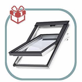 Мансардне вікно поліуретан GLU Стандарт Velux