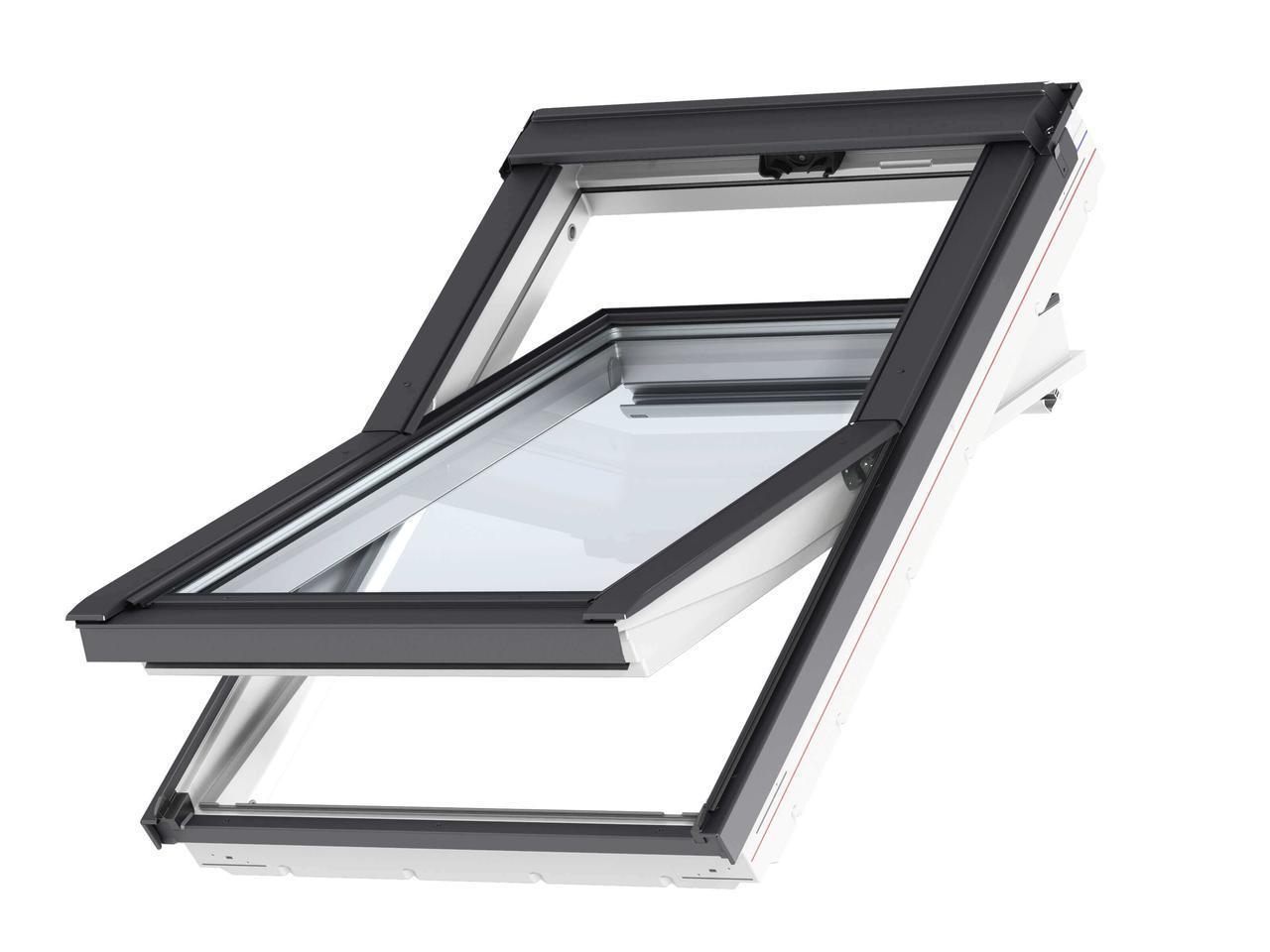 Мансардное окно полиуретан GLU Стандарт Плюс Velux
