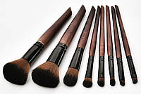 Набор кистей для макияжа 8шт Rozi tande + чехол