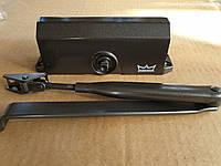 Дверной доводчик Dorma TS 77 с ножницами коричневый оригинал Германия