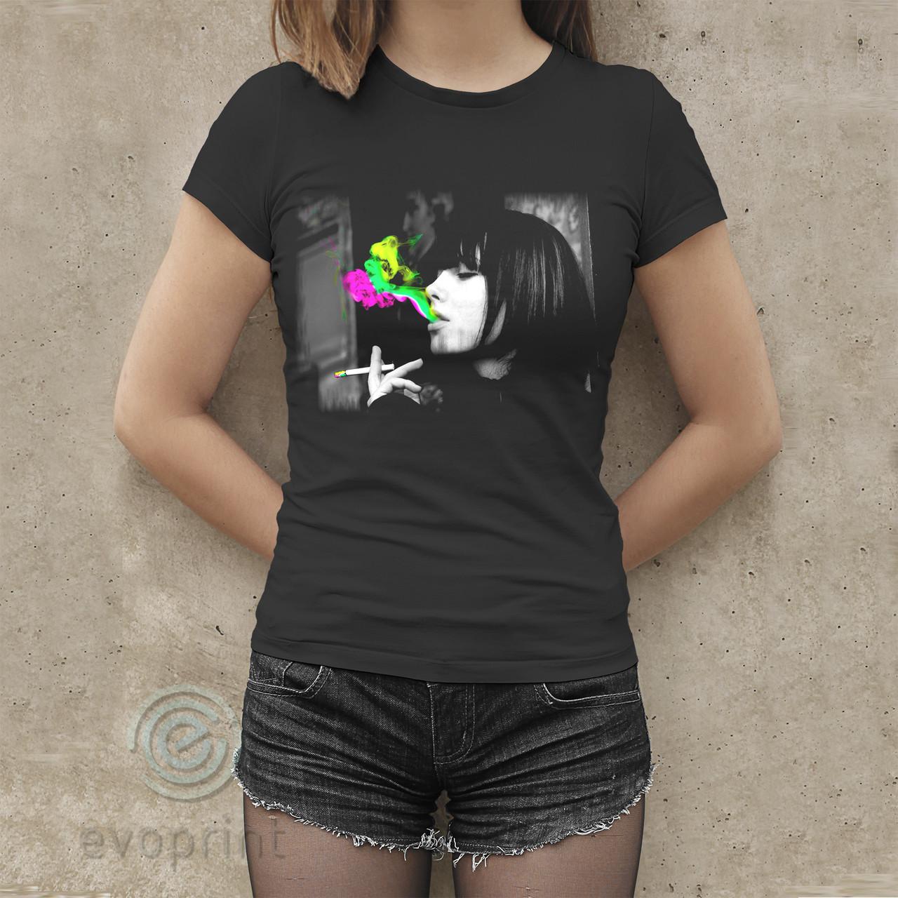 Накатка на чёрные футболки