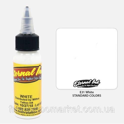 Краска для тату Eternal White (Белый) 1 унц