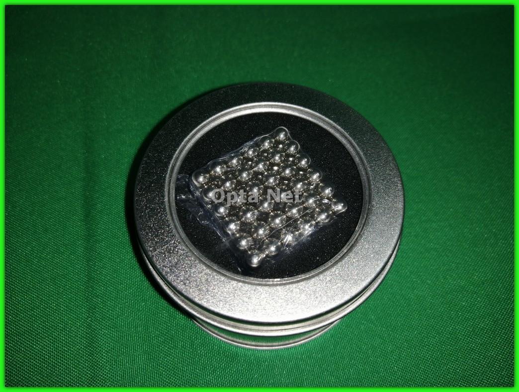 Неокуб 216 шариков 5 мм Neocube Серебро