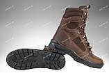 Берцы зимние / военная, тактическая обувь GROZA (крейзи), фото 2