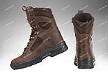 Берцы зимние / военная, тактическая обувь GROZA (крейзи), фото 3