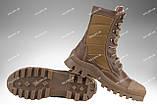 Берцы зимние / военная, армейская обувь СКИФ II (coyote), фото 2