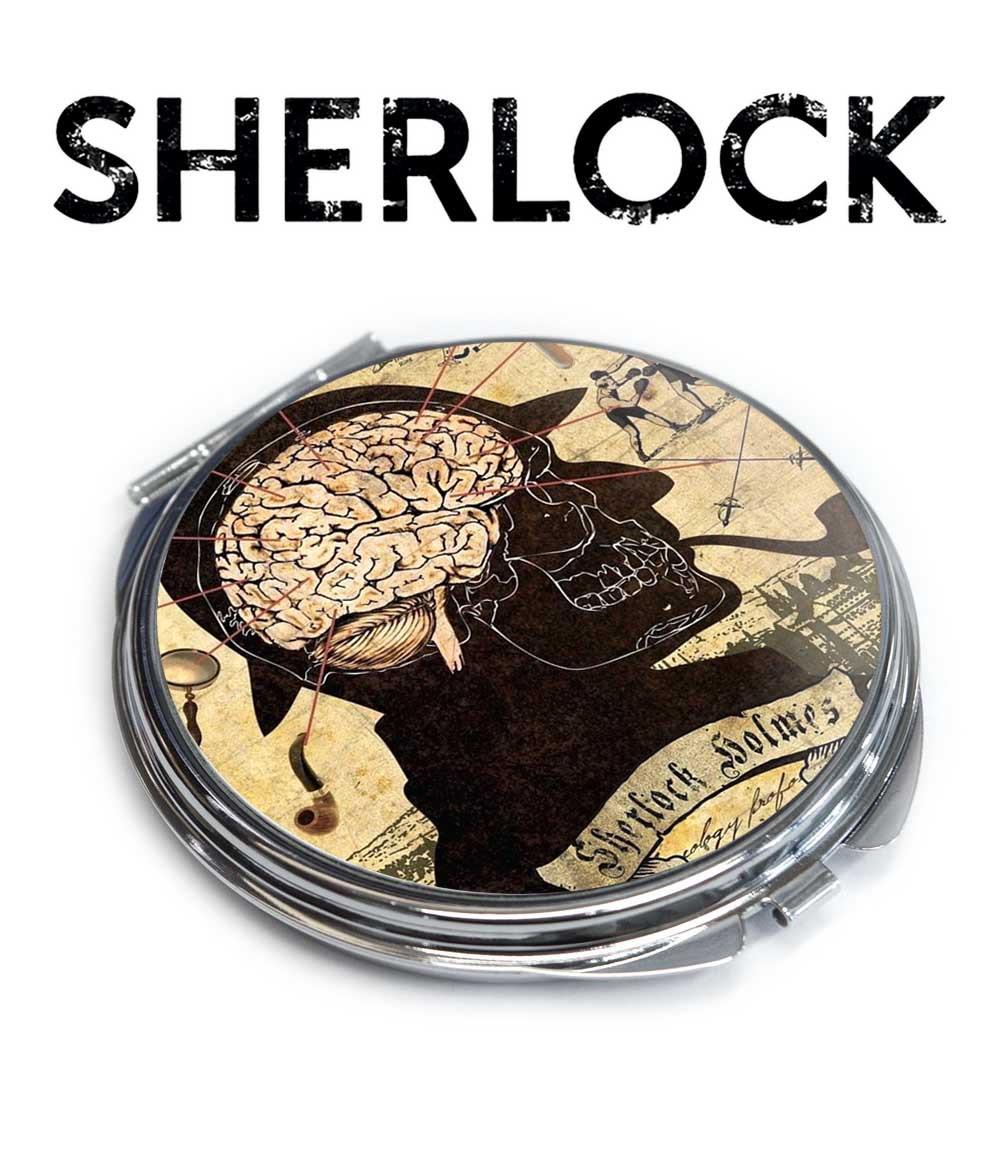 Карманное зеркало мозг Шерлока Шерлок / Sherlock