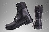 Берці зимові / військова, робоче взуття ШТУРМ (black), фото 3