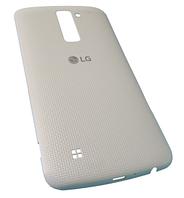Батарейная крышка для LG K10 (K410) with NFC White