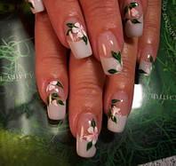 Курс наращивания ногтей гель