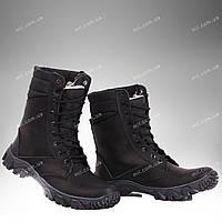 Берці зимові / військова, робоче взуття МІРАЖ II (black), фото 1