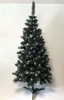 """Штучна ялинка SUNROZ """"Європейська королева"""" 1,8м Зелена з білим напиленням (SUN5970)"""