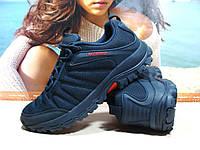 Мужские термо - кроссовки Yike waterproof синие 41 р., фото 1