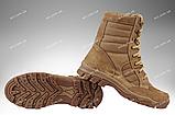 Берцы зимние / военная обувь ПЛАСТУН (black), фото 3