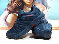 Мужские термо - кроссовки Yike waterproof синие 46 р., фото 1