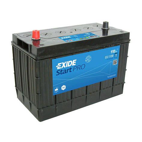 EXIDE 6СТ-110 Аз STARTPRO EG110B Автомобильный аккумулятор, фото 2