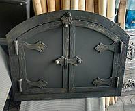 """Дверка до хлібної печі овал """"Стріла"""" 40x33"""