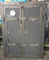 """Утеплені дверки для коптильні  """"Стріла"""" 40x60"""