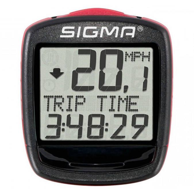 Велокомп'ютер Sigma Sport Base 1200 Black-Red, фото 2