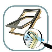 Окно для кровли двухкамерное FTS V U4 Fakro