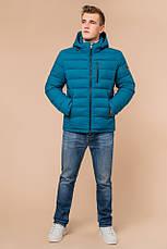 "Куртка мужская зимная Braggart ""Aggressive"" на тинсулейте  бирюзовая размер 48 50 52 54 56, фото 2"