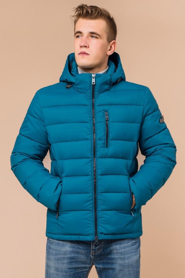 """Куртка мужская зимная Braggart """"Aggressive"""" на тинсулейте  бирюзовая размер 48 50 52 54 56"""
