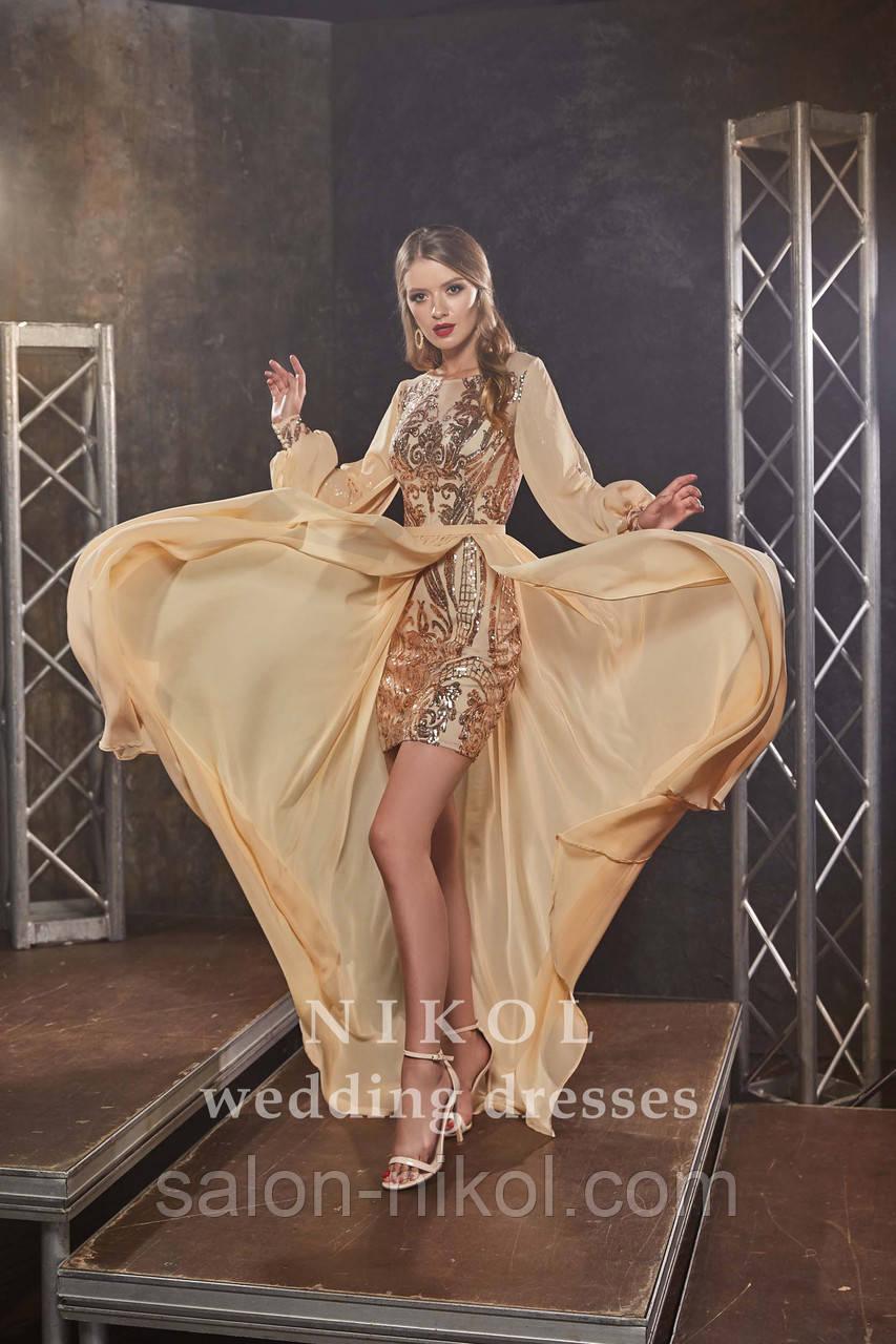 Вечернее, выпускное платье № V439