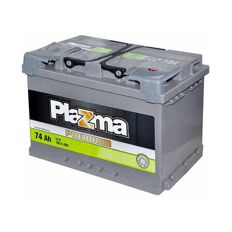 Plazma 6СТ-74 АзЕ Premium 574 64 04 Автомобильный аккумулятор, фото 2