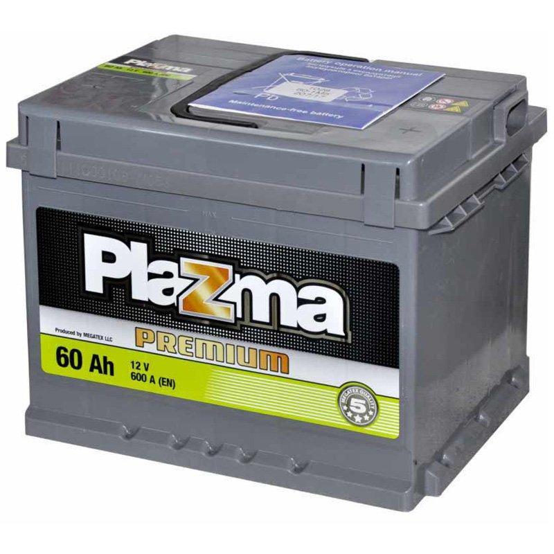 Plazma 6СТ-60 АзЕ Premium 560 64 04 Автомобильный аккумулятор