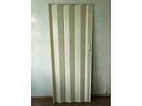 Двери гармошка глухая кедр, фото 1