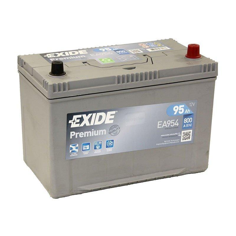 EXIDE 6СТ-95 АзЕ PREMIUM EA954 Автомобильный аккумулятор