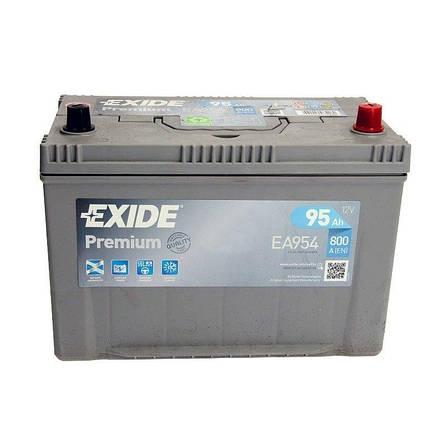 EXIDE 6СТ-95 АзЕ PREMIUM EA954 Автомобильный аккумулятор, фото 2