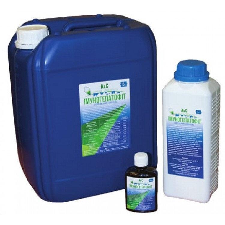 Имуногепатофит 5 л ветеринарный пробиотик, смесь биологически активных веществ