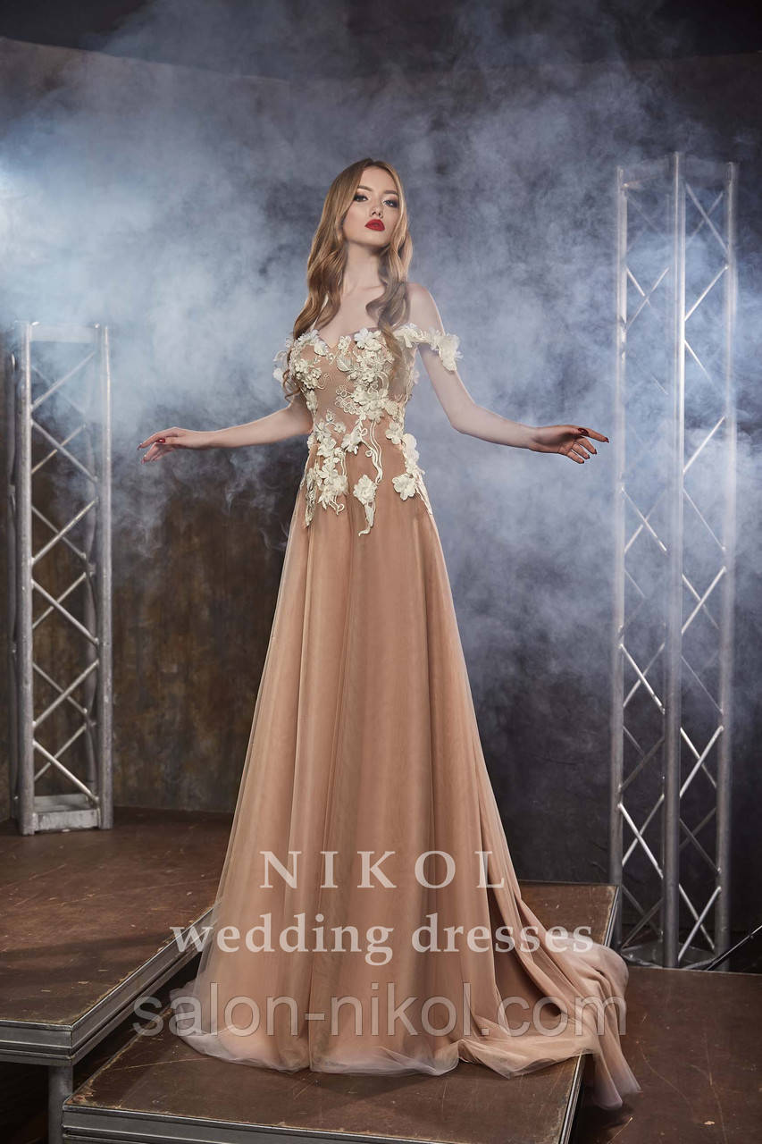 Вечернее, выпускное платье № V441