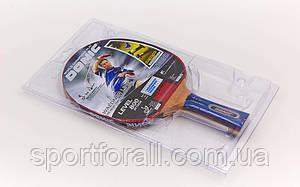 Ракетка для настільного тенісу 1 штука DNC WALDNER LINE (деревина, гума)Replika MT-800