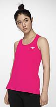 Майка женская 4F Fitness S-M neon pink (H4L19-TSDF001)