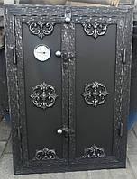"""Дверка для коптильні утеплена """"Медальон"""" 40x60"""
