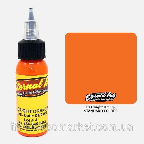 Краска для тату Eternal Bright Orange (Солнечно-оранжевый) 1 унц