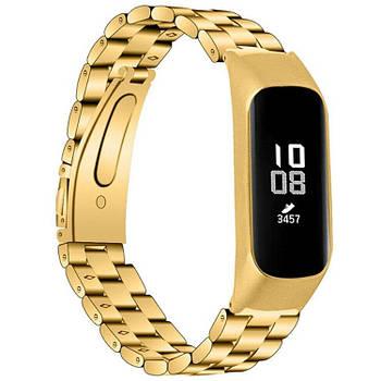 Металлический ремешок Primo для фитнес браслета Samsung Galaxy Fit E ( SM-R375 ) - Gold
