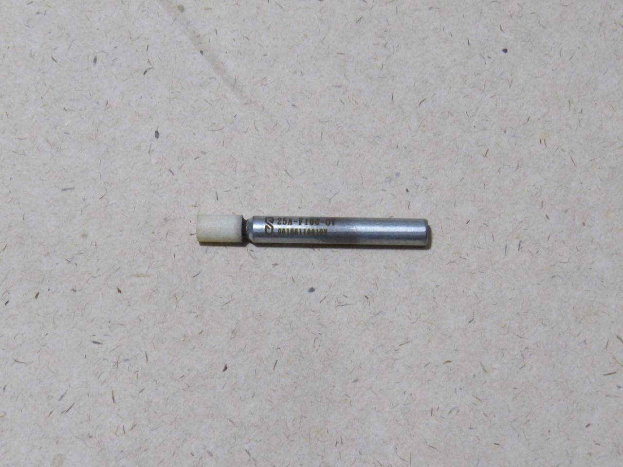 Абразивная шлифовальная головка цилиндрическая Ø6х10х6 P12 СТ1 25А
