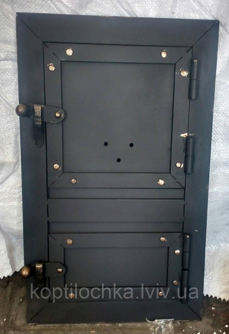 "Пічна дверка ""Кнопка"" 20x40"