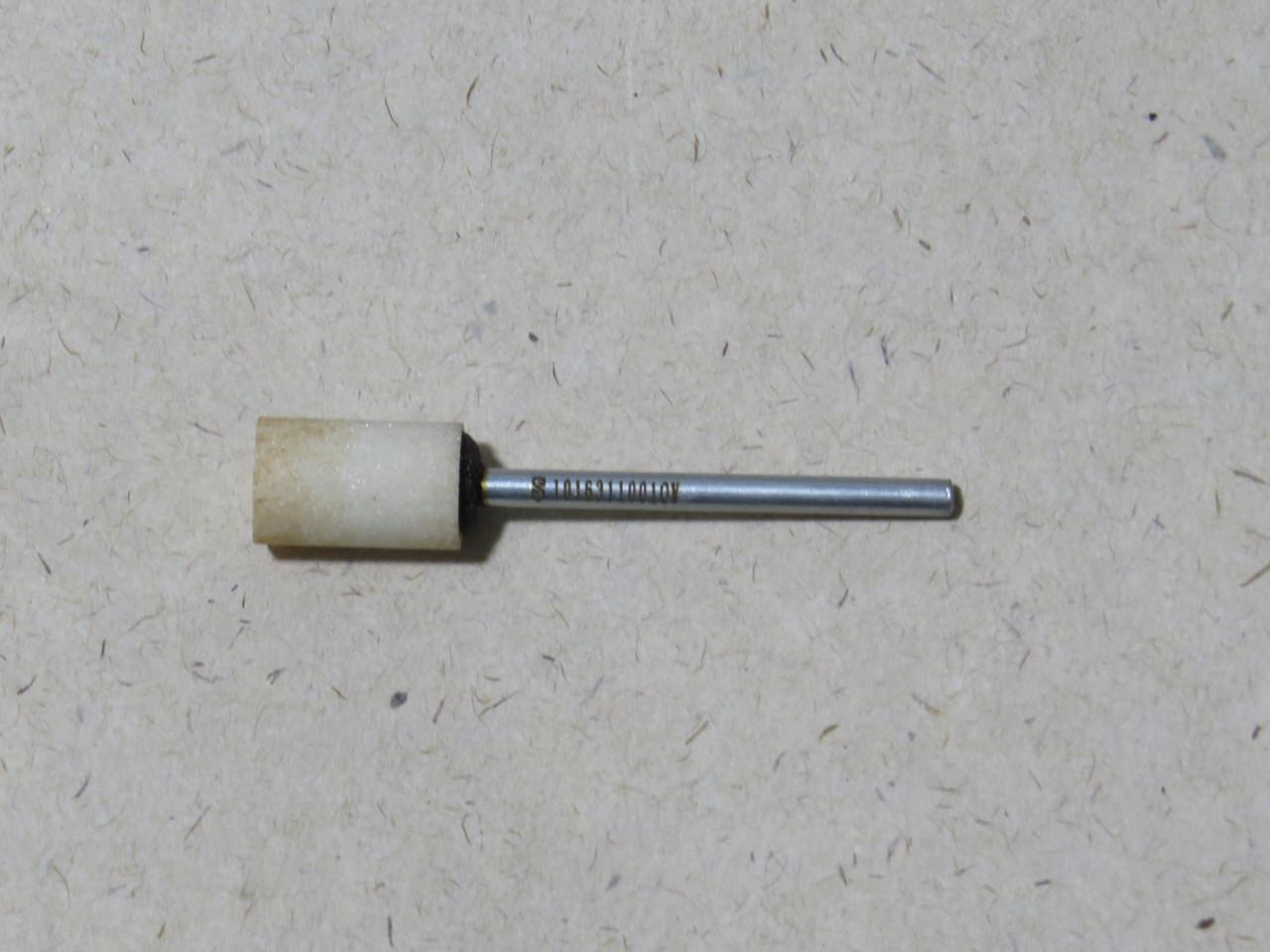 Абразивная шлифовальная головка цилиндрическая Ø10х16х3 P12 СТ1 25А