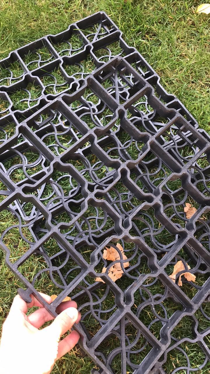 Газонная решетка Bradas Hobby 386x386x40