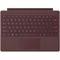 Клавиатура Microsoft Surface Pro Signature Type Cover Burgundy Commercial (FFQ-00053)