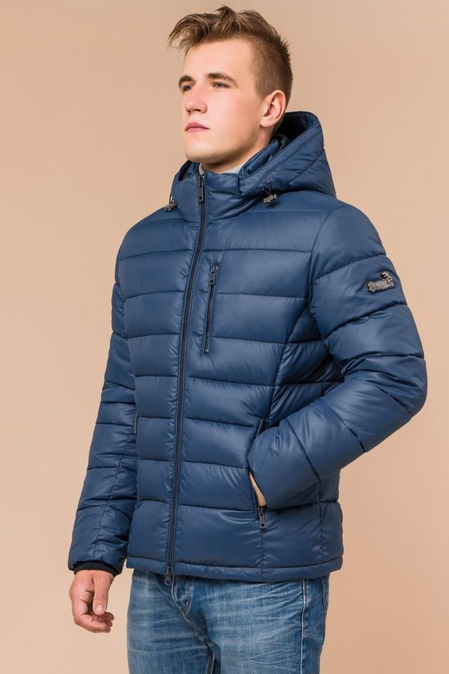 """Мужская синяя куртка на зиму Braggart """"Aggressive"""" на тинсулейте  размер 48 50 52 54 56"""