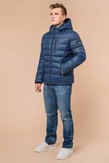 """Мужская синяя куртка на зиму Braggart """"Aggressive"""" на тинсулейте  размер 48 50 52 54 56, фото 2"""