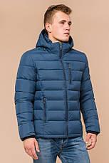 """Мужская синяя куртка на зиму Braggart """"Aggressive"""" на тинсулейте  размер 48 50 52 54 56, фото 3"""