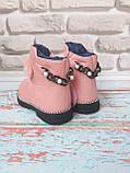 Ботинки на девочку на меху зимние, фото 4