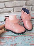 Ботинки на девочку на меху зимние, фото 3