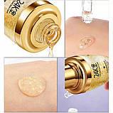 Сыворотка для лица с частицами 24к золота и гиалуроновой кислотой Bioaqua 24k Gold Skin Care (30мл), фото 5